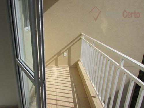 apartamento residencial à venda, jardim morumbi, indaiatuba. - ap0205