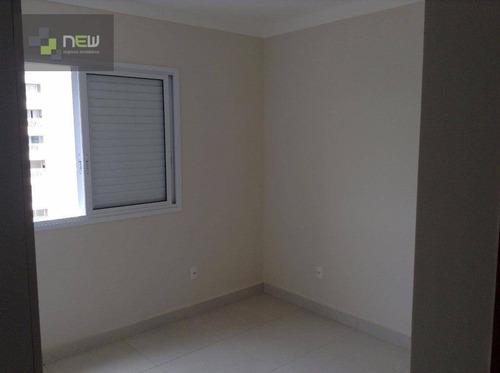 apartamento residencial à venda, jardim nova aliança sul, ribeirão preto. - ap0549