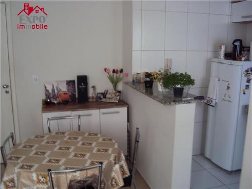 apartamento residencial à venda, jardim nova europa, campinas. - ap0012