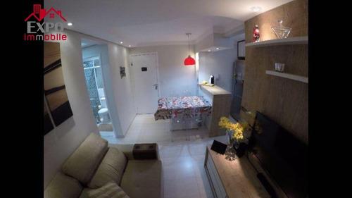 apartamento residencial à venda, jardim nova europa, campinas. - ap0102