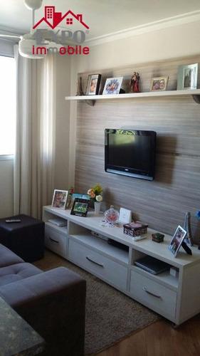 apartamento residencial à venda, jardim nova europa, campinas. - ap0436