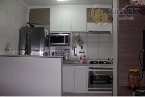 apartamento residencial à venda, jardim nova europa, campinas. - ap0455