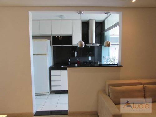 apartamento residencial à venda, jardim nova europa, campinas. - ap4580