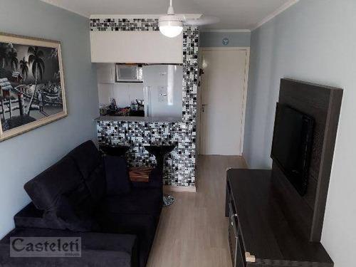 apartamento residencial à venda, jardim nova europa, campinas. - ap5888