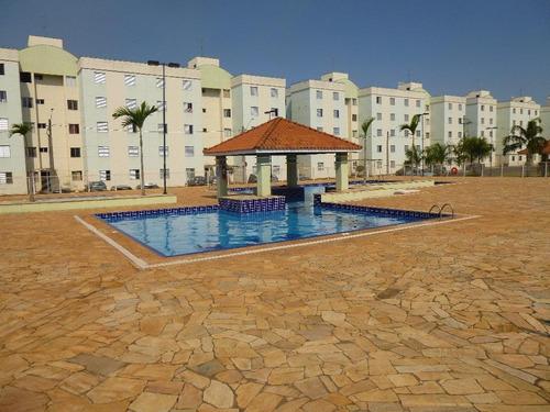 apartamento residencial à venda, jardim nova iguaçu, piracicaba. - ap1258