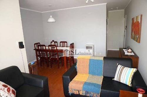 apartamento  residencial à venda, jardim paraíso, campinas. - ap0353