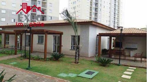 apartamento residencial à venda, jardim paraíso de viracopos, campinas. - ap0396