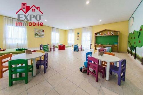 apartamento residencial à venda, jardim paraíso de viracopos, campinas. - ap0397