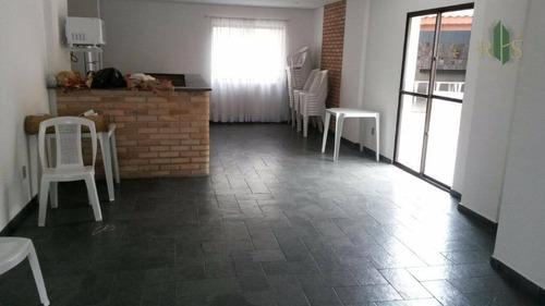 apartamento residencial à venda, jardim paraíso, são paulo. - ap0176