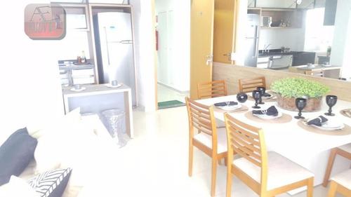 apartamento residencial à venda, jardim paraíso, são paulo. - ap0563