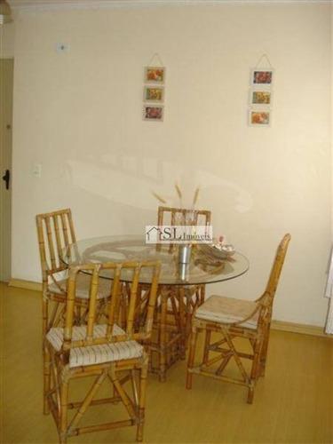 apartamento residencial à venda, jardim paulicéia, campinas. - ap0449