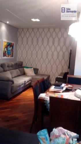 apartamento residencial à venda, jardim paulista, americana. - ap0439