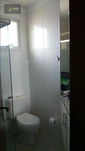 apartamento residencial à venda, jardim paulista, ribeirão preto. - ap0955