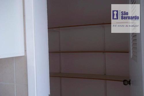 apartamento  residencial à venda, jardim santana, americana. - ap0491