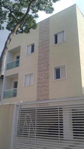 apartamento residencial à venda, jardim santo alberto, santo andré. - ap1051
