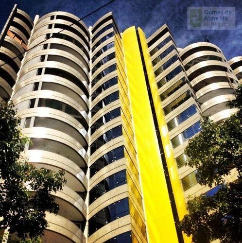 apartamento residencial à venda, jardim, santo andré - ap0202. - ap0202