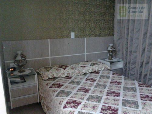 apartamento residencial à venda, jardim, santo andré - ap0827. - ap0827