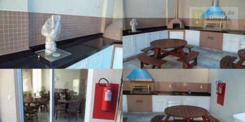 apartamento residencial à venda, jardim, santo andré - ap1069. - ap1069