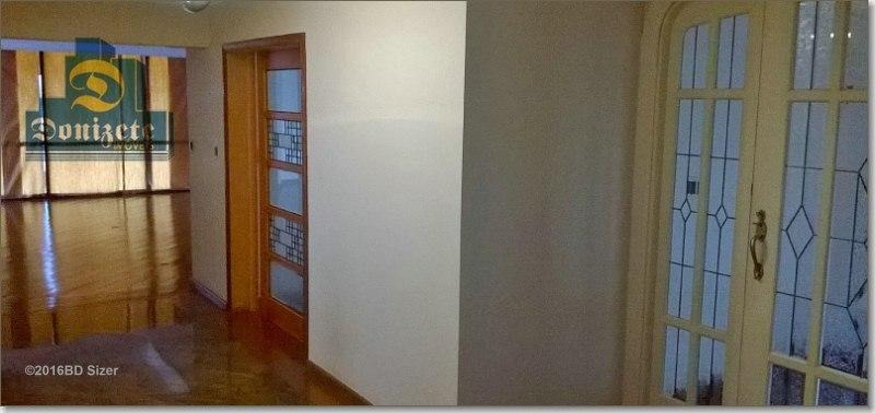 apartamento residencial à venda, jardim, santo andré. - ap2090