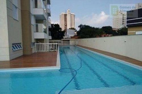 apartamento residencial à venda, jardim, santo andré - ap2848. - ap2848