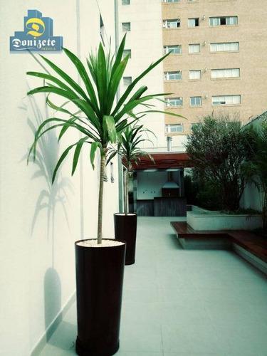 apartamento residencial à venda, jardim, santo andré. - ap7800