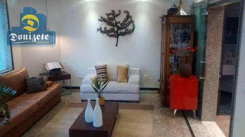 apartamento residencial à venda, jardim, santo andré. - ap9074