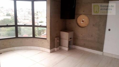 apartamento residencial à venda, jardim, santo andré. - codigo: ap2837 - ap2837