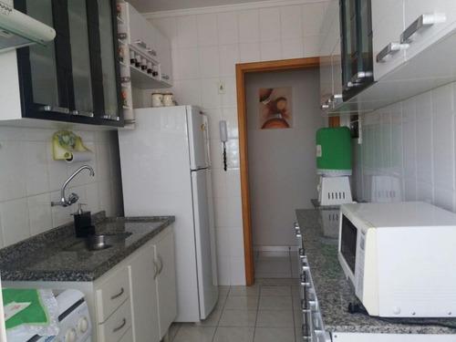 apartamento residencial à venda, jardim satélite, são josé dos campos. - ap0072