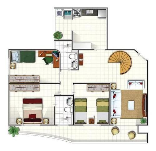 apartamento  residencial à venda, jardim satélite, são josé dos campos. - ap0073