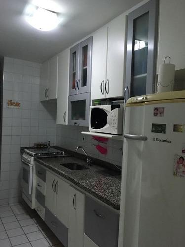 apartamento residencial à venda, jardim satélite, são josé dos campos. - ap0081