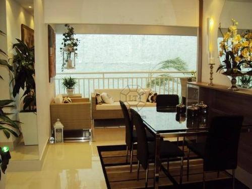 apartamento residencial à venda, jardim são caetano, são caetano do sul. status - ap0303