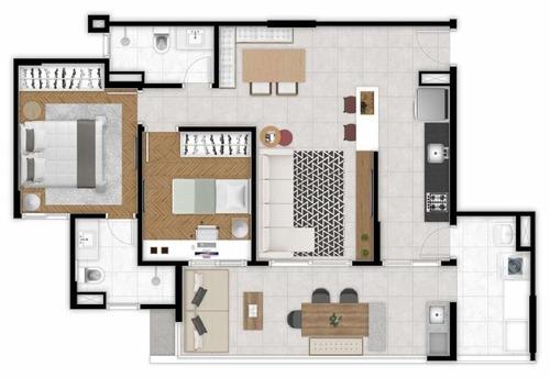 apartamento residencial à venda, jardim são dimas, são josé dos campos - . - ap1544