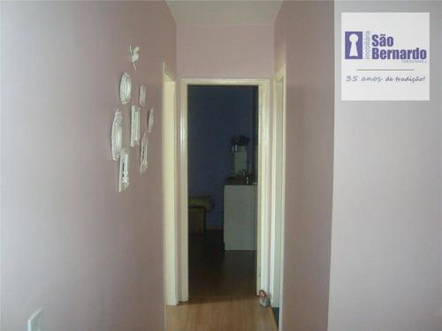 apartamento residencial à venda, jardim são domingos, americana. - ap0112
