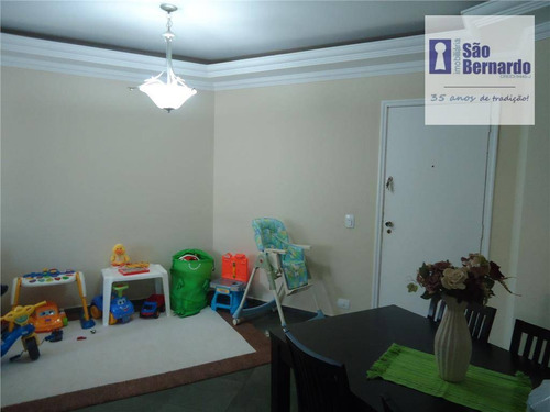 apartamento residencial à venda, jardim são domingos, americana. - ap0126