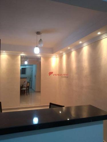 apartamento residencial à venda, jardim são francisco, piracicaba. - ap0477