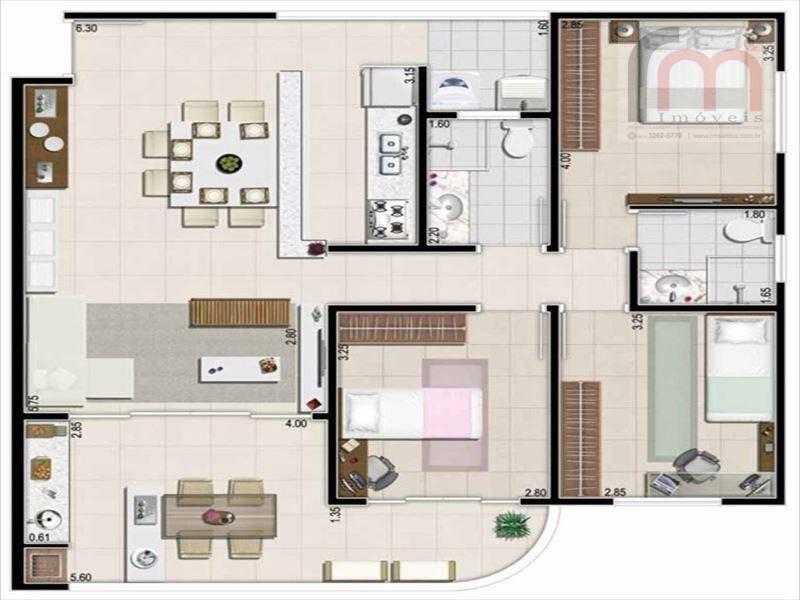 apartamento residencial à venda, jardim são lourenço, bertioga - ap0678. - ap0678