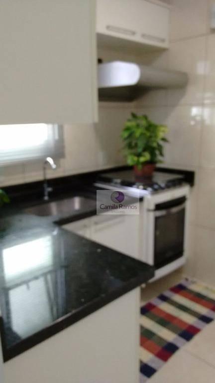 apartamento residencial à venda, jardim são luís, suzano. - ap0170