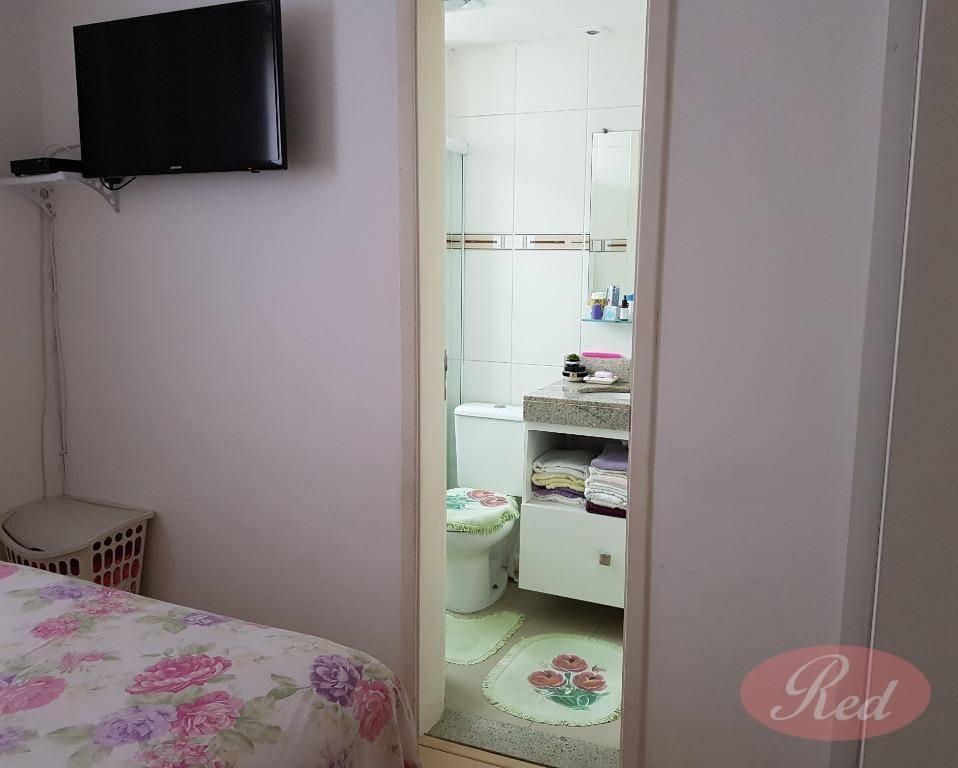 apartamento residencial à venda, jardim são luís, suzano. - ap1681