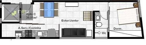 apartamento  residencial à venda, jardim são luiz, ribeirão preto. - ap0257