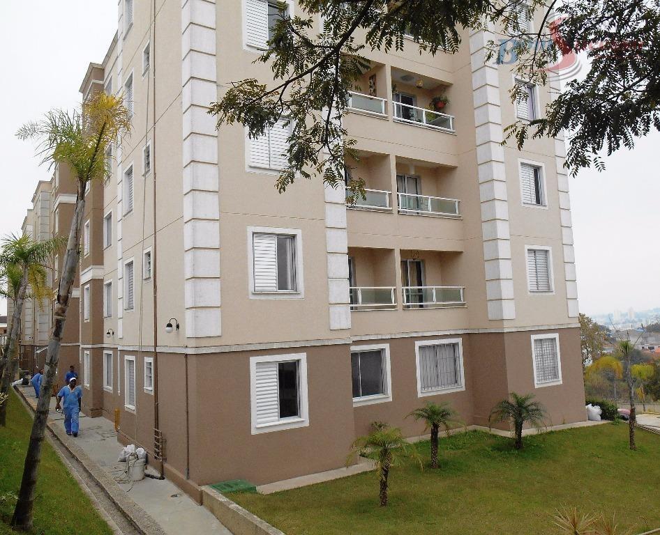 apartamento residencial à venda, jardim são miguel, ferraz de vasconcelos. - ap0996