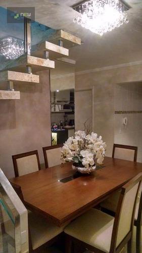 apartamento residencial à venda, jardim sumaré, ribeirão preto. - ap0775