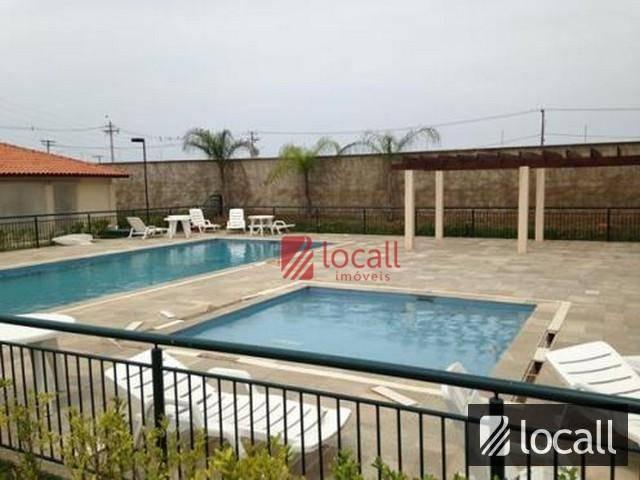 apartamento residencial à venda, jardim tarraf ii, são josé do rio preto. - ap0783