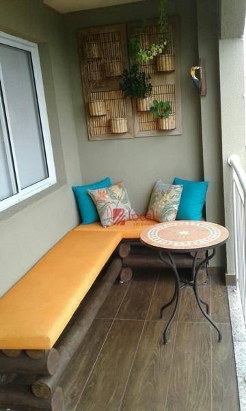 apartamento residencial à venda, jardim tarraf, são josé do rio preto. - ap0756