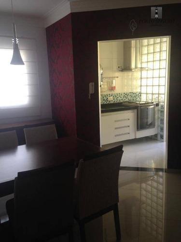 apartamento residencial à venda, jardim terramérica i, americana. - ap0250
