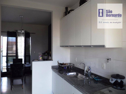 apartamento  residencial à venda, jardim terramérica ii, americana. - ap0428