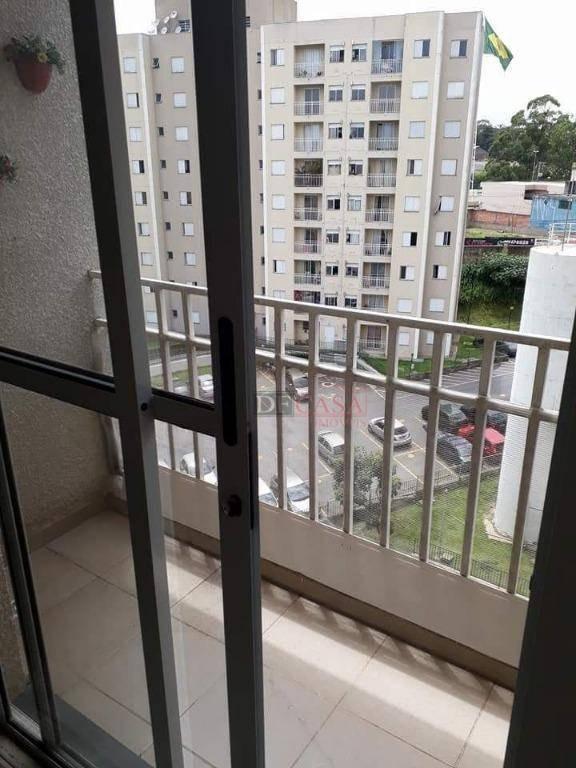 apartamento residencial à venda, jardim triângulo, ferraz de vasconcelos. - ap3914