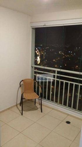 apartamento residencial à venda, jardim tupanci, barueri. - ap0008