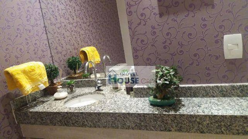 apartamento residencial à venda, jardim tupanci, barueri. - ap0009