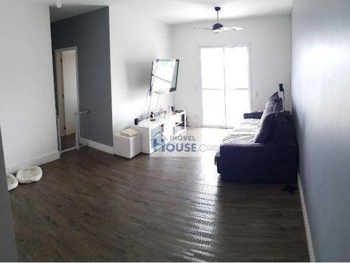 apartamento residencial à venda, jardim tupanci, barueri. - ap0020