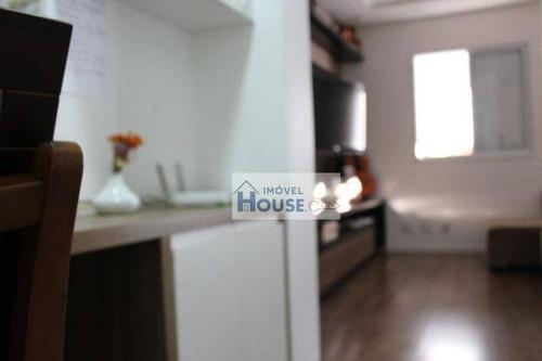 apartamento residencial à venda, jardim tupanci, barueri. - ap0022